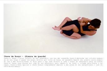 """""""Estudo sobre golpes de luta, 2013"""" fotografia e texto, 20cm X 30cm cada, Local: São Paulo, Brasil. Participação: Christiane Martins"""