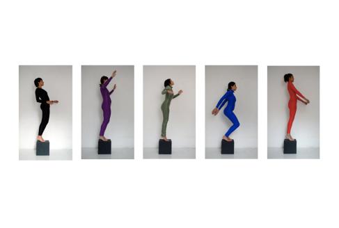 A ponta, 2016, Instalação, dimensões variadas, Participação: Isadora Brant, Ana Elisa Carramaschi, Sheila Regiane, Clarice Cunha e Elen Braga.